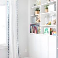 DIY No-Sew Pom Pom Curtains + ORC Week 5