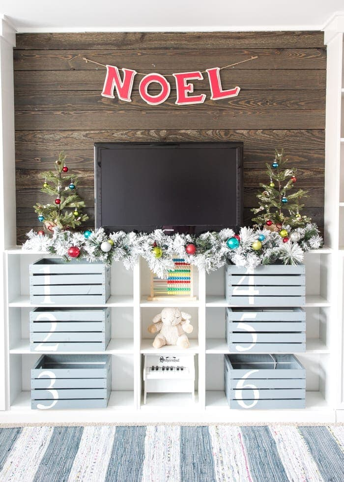 Whimsical Retro Christmas Playroom blesserhousecom