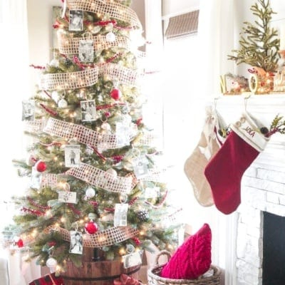 How to Decorate a Designer Christmas Tree on the Cheap