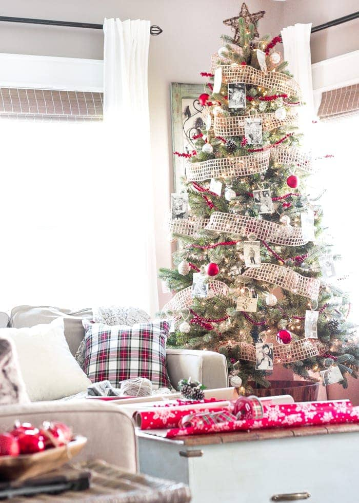 How to Decorate a Designer Christmas Tree on the Cheap | blesserhouse.com - How to decorate a christmas tree like a designer with these money-saving tips, plus tree decorating ideas from eight other home decor bloggers.