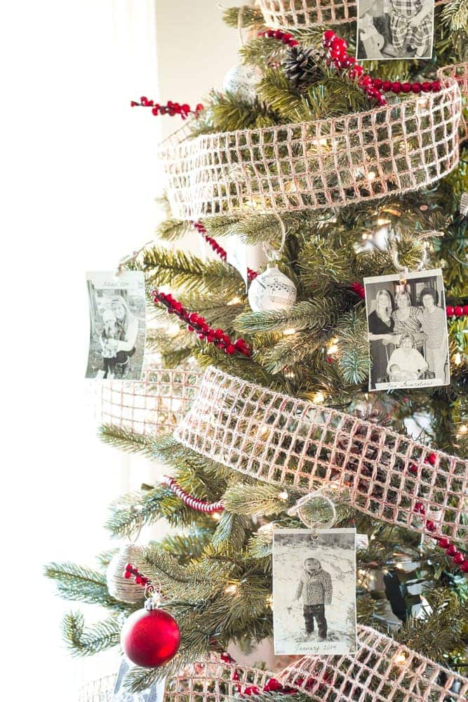 How To Decorate A Designer Christmas Tree On The Cheap | Blesserhouse.com    How