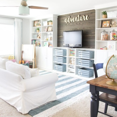 Eclectic Farmhouse Playroom Reveal & ORC Week 6