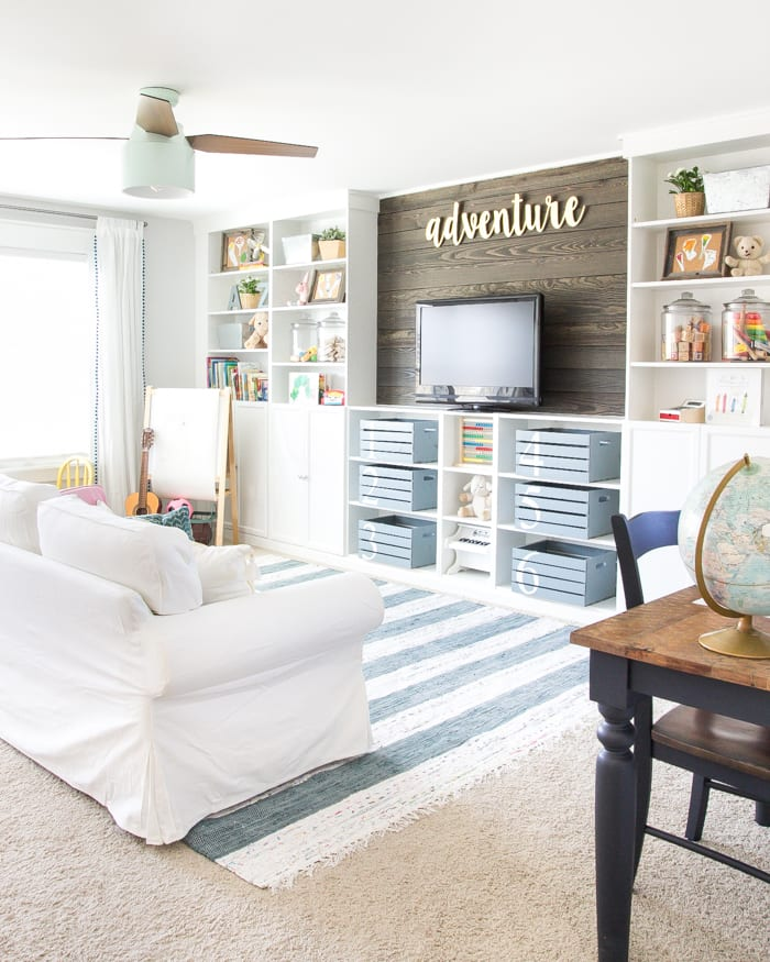 Playroom: Eclectic Farmhouse Playroom Reveal & ORC Week 6