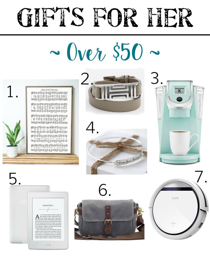 Holiday Gift Guide - Gifts for Her Over $50 | blesserhouse.com - Gift ideas for men and women of all ages for all budgets plus a $300+ giveaway!