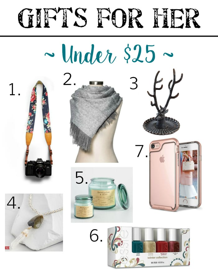 Holiday Gift Guide - Gifts for Her Under $25 | blesserhouse.com - Gift ideas for men and women of all ages for all budgets plus a $300+ giveaway!