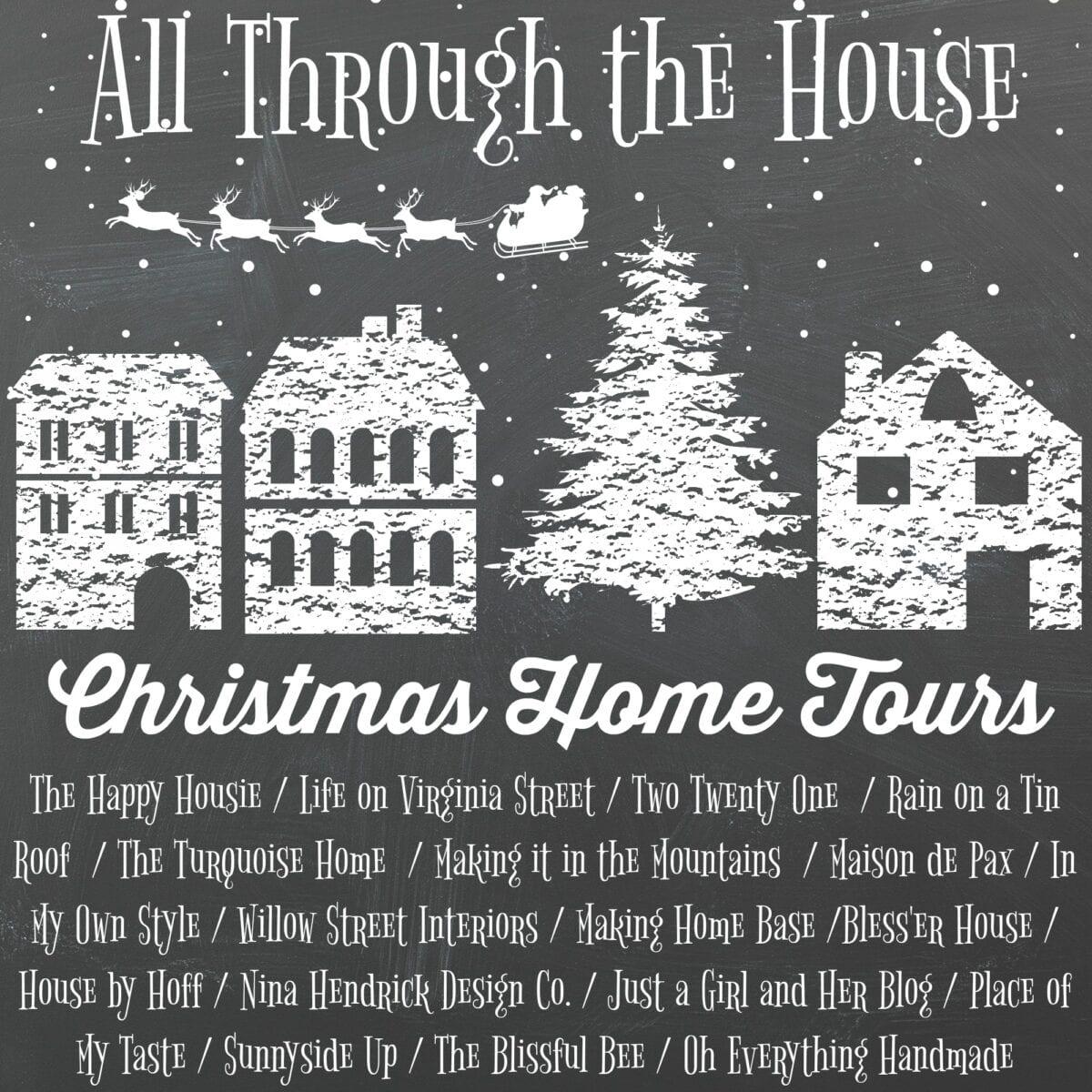 White Christmas Bedrooms Tour - Bless\'er House