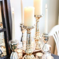 The Best Mercury Glass Decor for a Small Budget