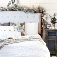 White Christmas Bedrooms Tour