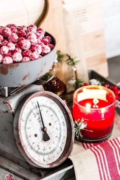 Christmas Breakfast Table + Kitchen Details