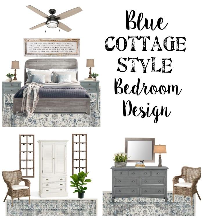 Blue Cottage Guest Bedroom Makeover Plans Bless'er House Simple Style Bedroom Designs Plans