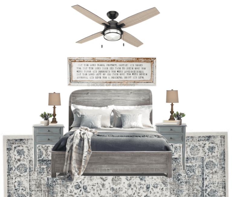 Blue Cottage Guest Bedroom Makeover Plans