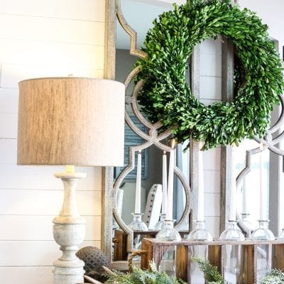 Winter Foyer Decorating Ideas