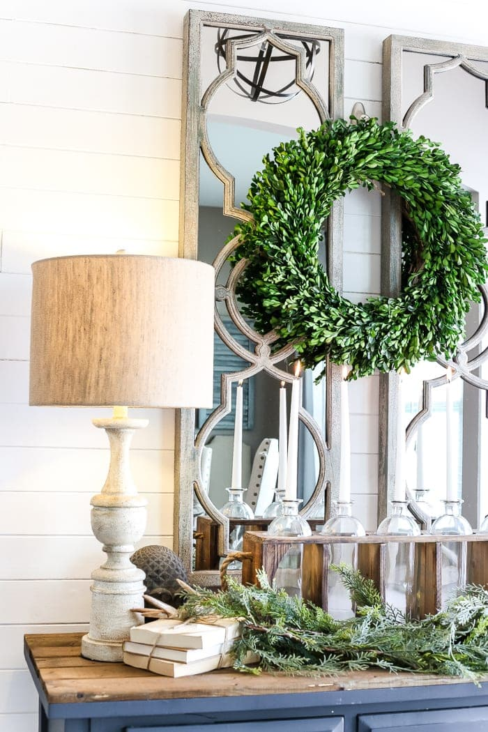 6 after christmas winter foyer decorating ideas blesserhousecom 6 tips for - Entryway Christmas Decorations
