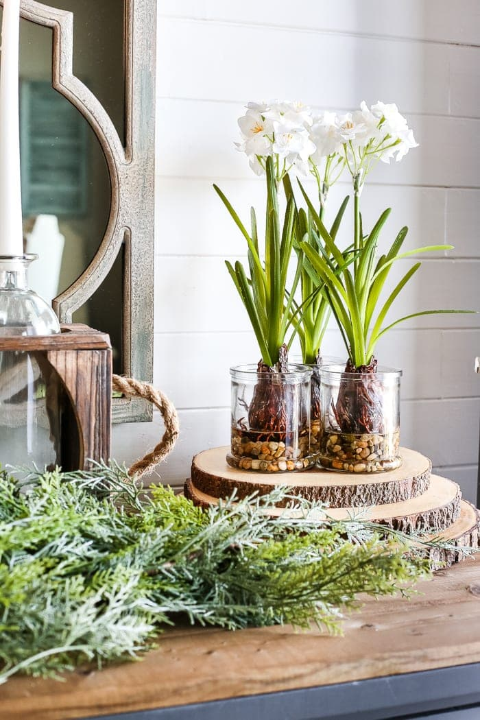 6 after christmas winter foyer decorating ideas blesserhousecom 6 tips for