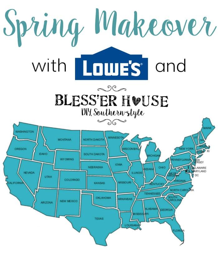 2017 lowe s spring makeover rh blesserhouse com