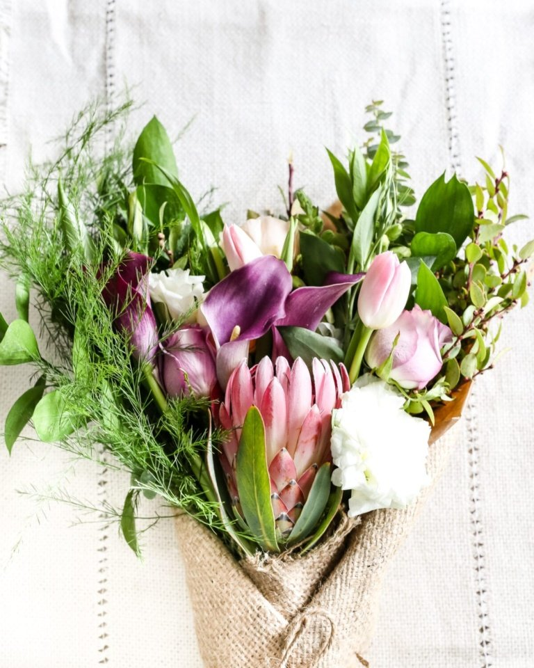 Valentine Bouquet Art Printable