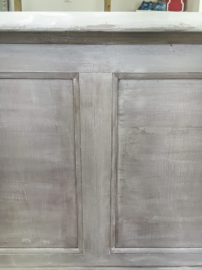Painted Weathered Wood Bed Makeover - Bless\'er House