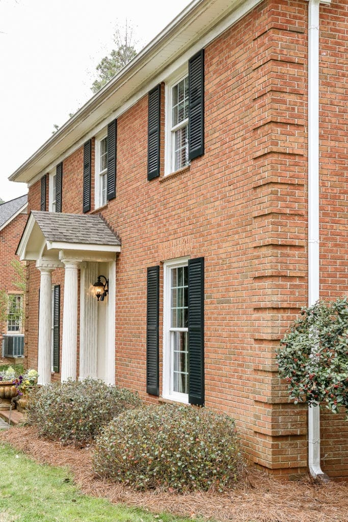 Limewash Brick Exterior Plans | Blesserhouse.com   A Full Exterior Brick  House Makeover Plan Part 92