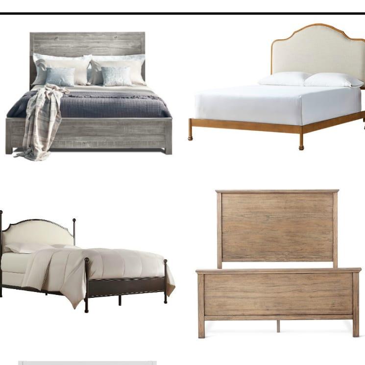 16 Modern Farmhouse Beds on a Small Budget