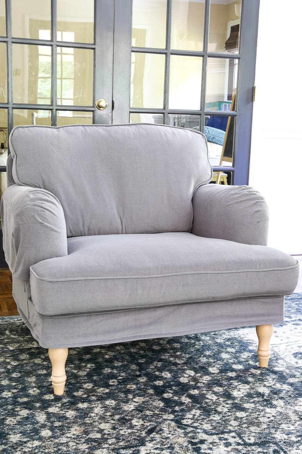 Ikea39s new sofa and chairs and how to keep them clean for Sofa chair