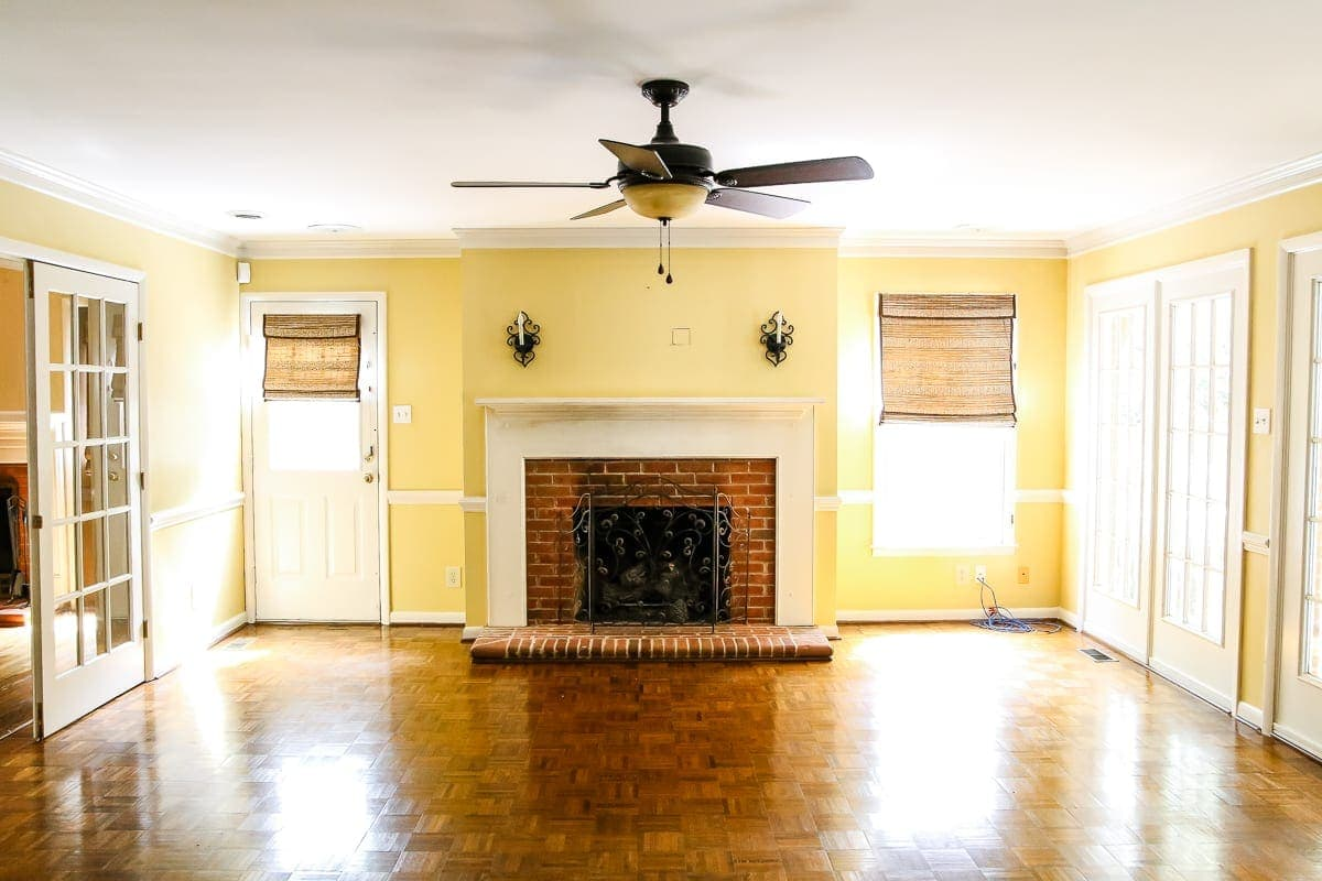 Living Room Update: Ceiling Fan Swap | Blesserhouse.com   A Bland, Boring Part 69