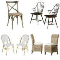 14 Dining Chairs for a Small Budget