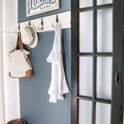 Laundry Room Updates: French Bifold Door