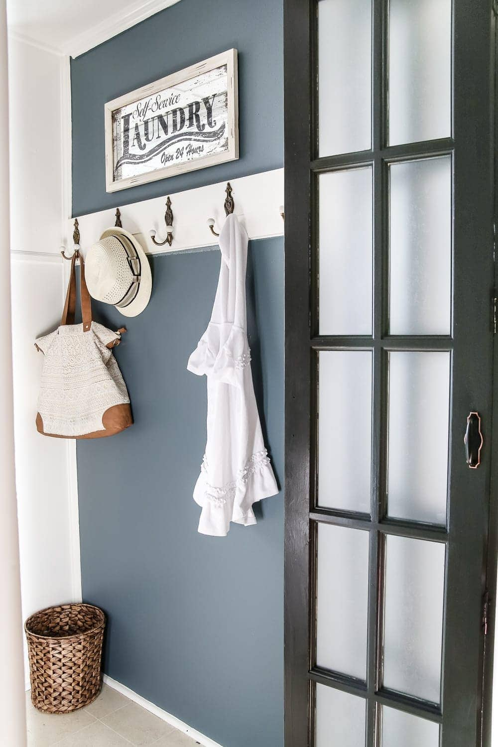 Laundry Room Updates French Bifold Door Blesserhouse A Rickity