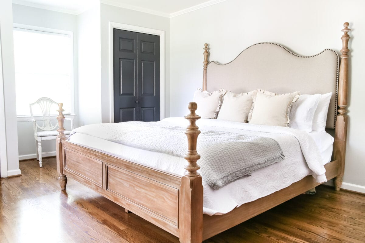 Master Bedroom Updates master bedroom update: pickled pine furniture - bless'er house