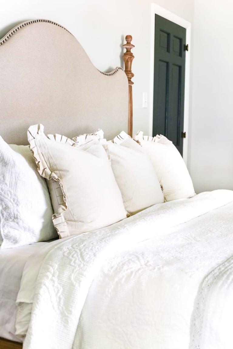 Master Bedroom Update: Pickled Pine Furniture