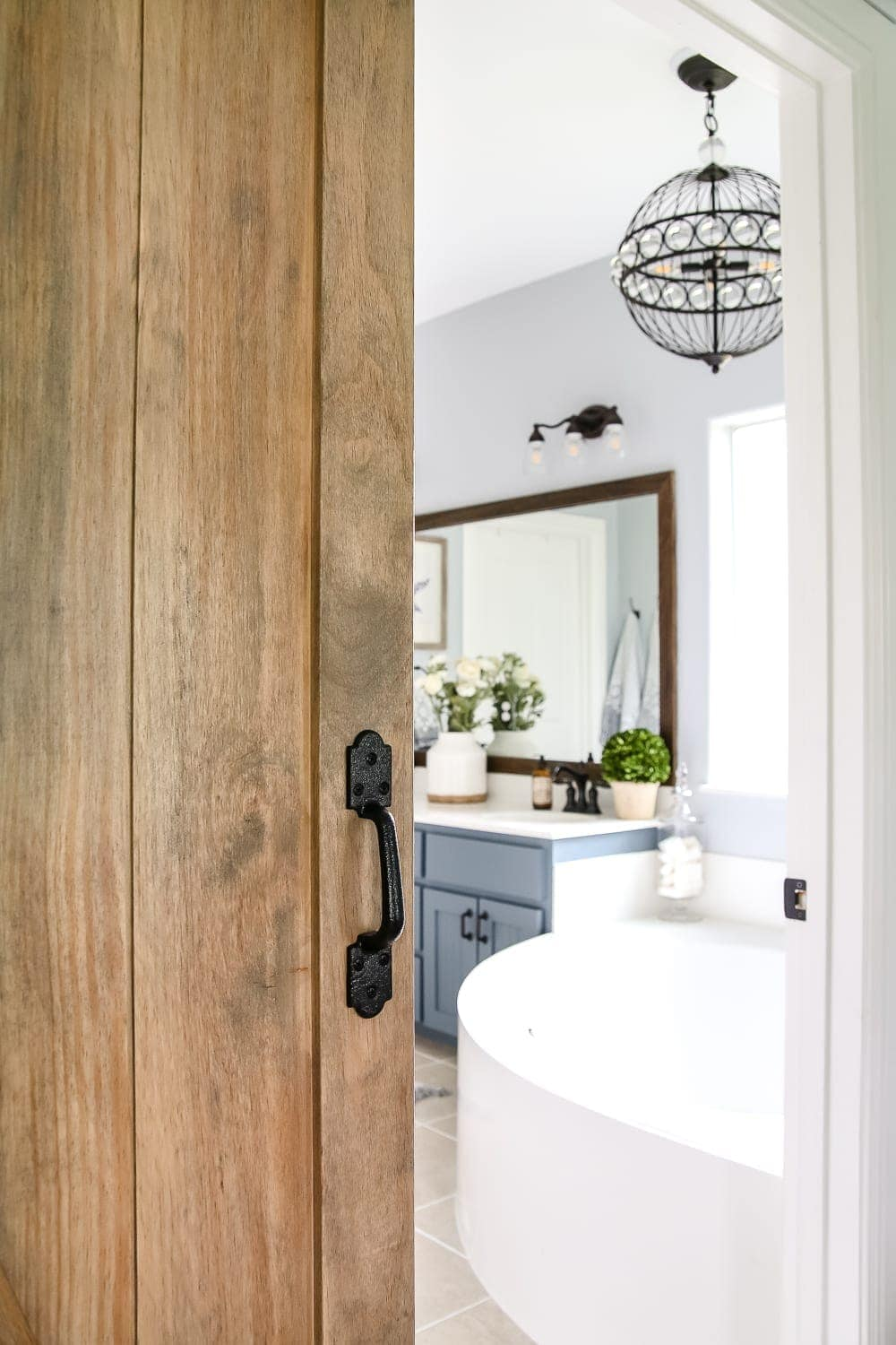 Lowe's Spring Makeover Bathroom Reveal