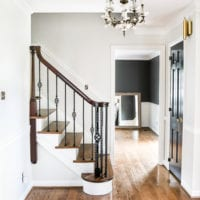 Neutral Painted Foyer Update