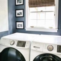 Vintage Clothesline Laundry Room Art Printable Set