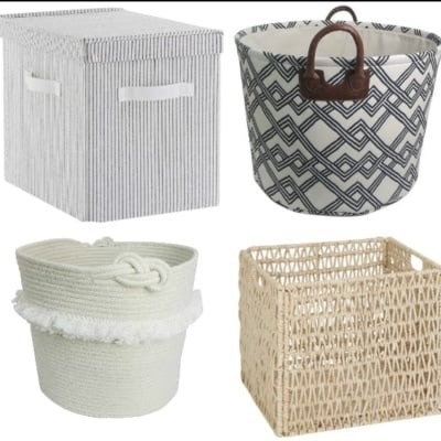 Favorite Cottage Style Baskets Under $25