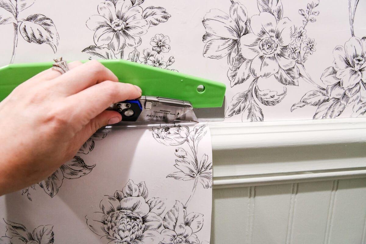 beginner 39 s guide to hanging wallpaper bless 39 er house. Black Bedroom Furniture Sets. Home Design Ideas