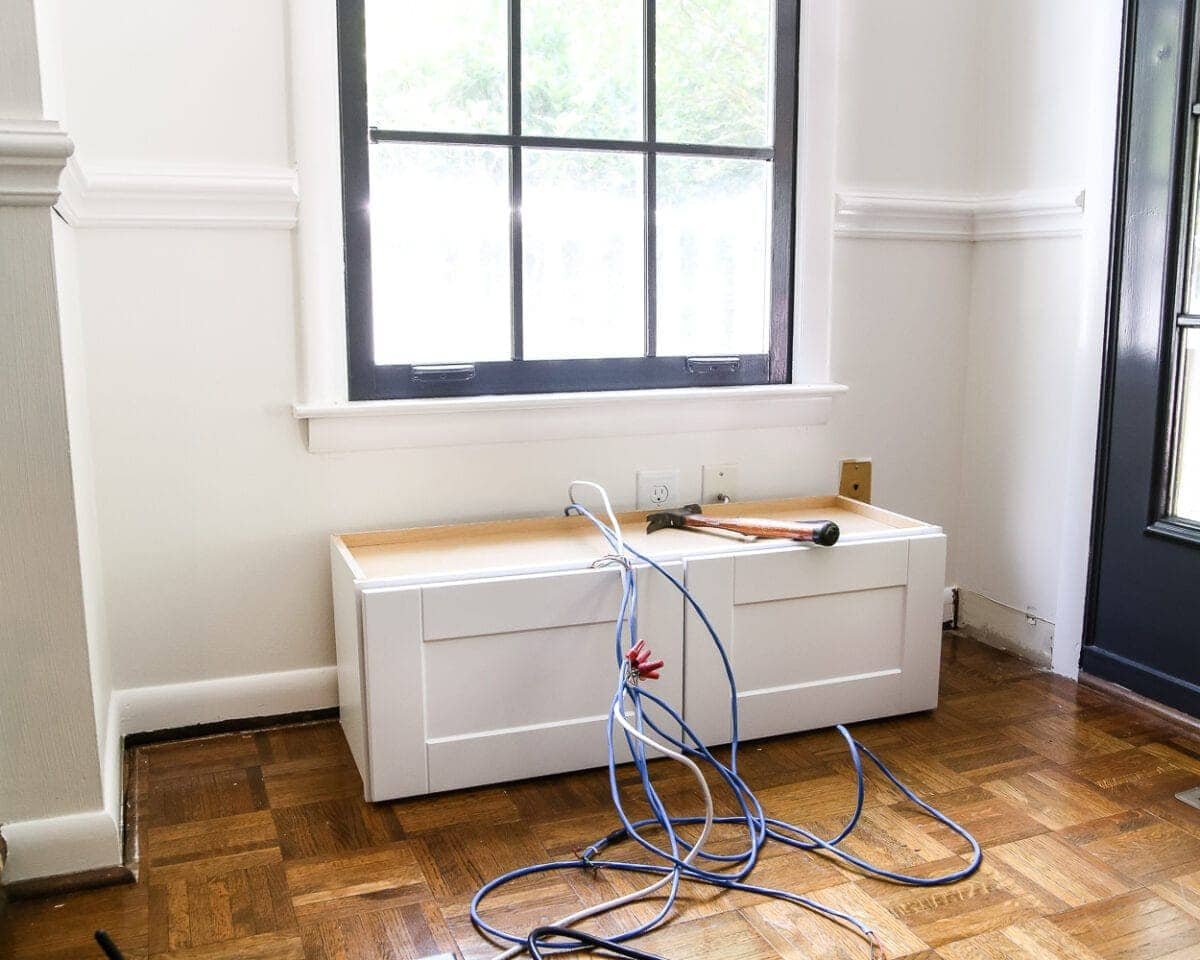 Superieur DIY Window Seat From A Kitchen Cabinet | Blesserhouse.com   A Simplified  Tutorial For