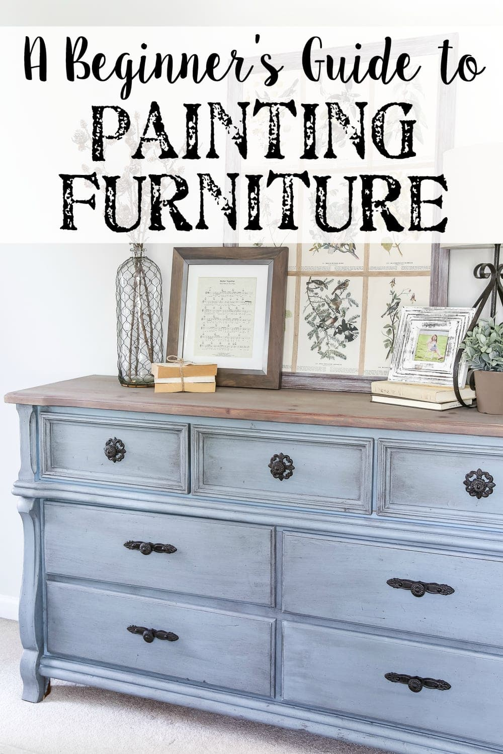Beginner S Guide To Painting Furniture Blesserhouse All Of The Tips And Tricks