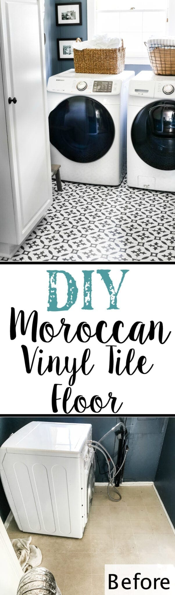 Diy moroccan vinyl tile floor blesser house diy moroccan vinyl tile floor blesserhouse a diy tutorial for how to dailygadgetfo Gallery