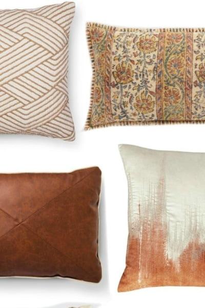 30 Fall Pillows Under $30