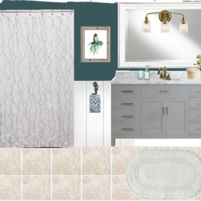 Mermaid Bathroom Design Plan