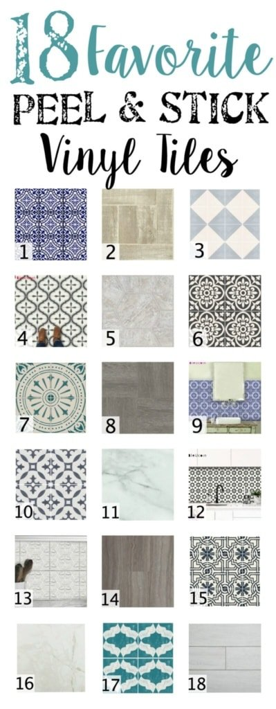 18 Favorite Peel And Stick Vinyl Tiles Bless Er House