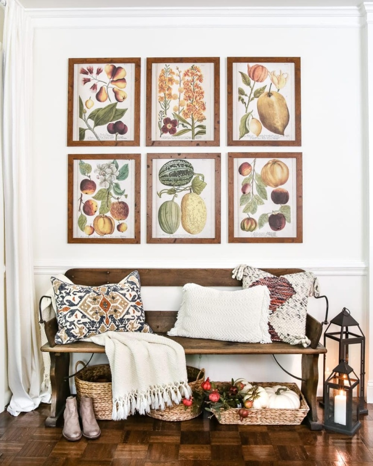 Fall Botany Art Gallery Wall Printables