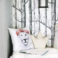 DIY Narnia Wardrobe Reading Nook