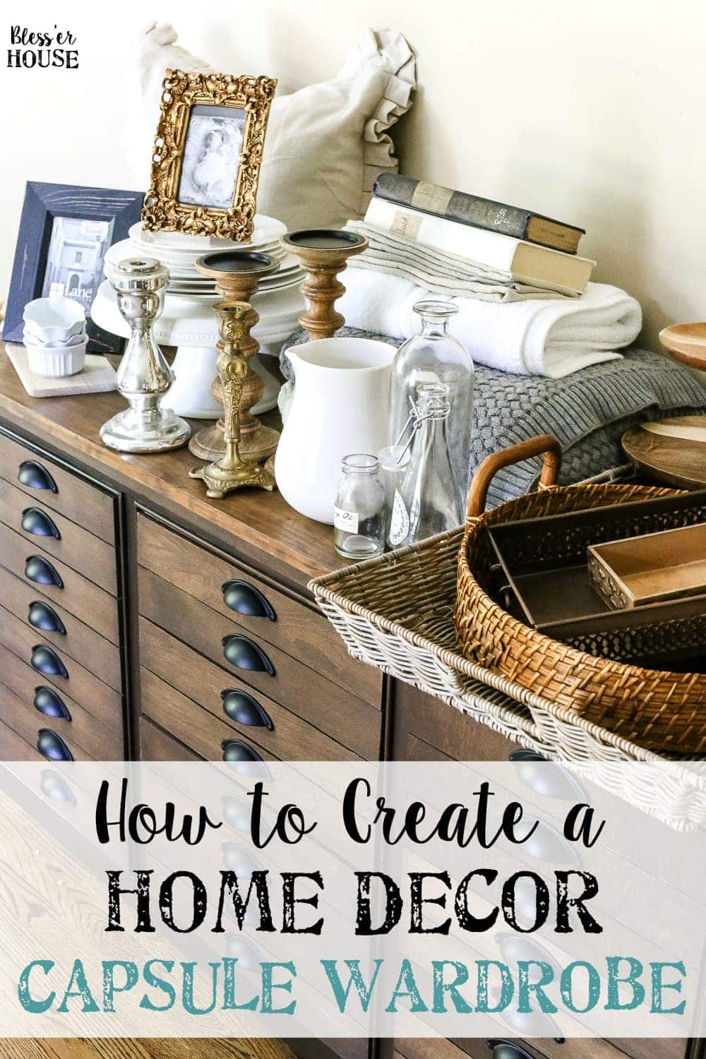 How to Create a Home Decor Capsule Wardrobe | blesserhouse.com