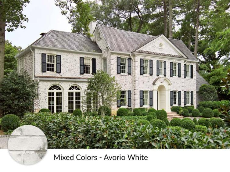 Limewash Brick Exterior Makeover Plans