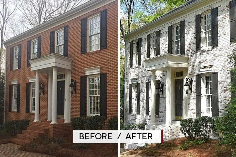 Before And After Exterior Home Makeovers Before And After Exterior Home Makeovers With Before