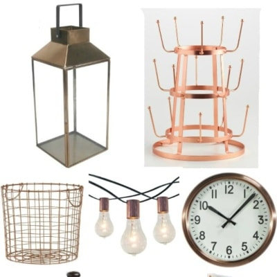 Copper Home Decor for Under 20