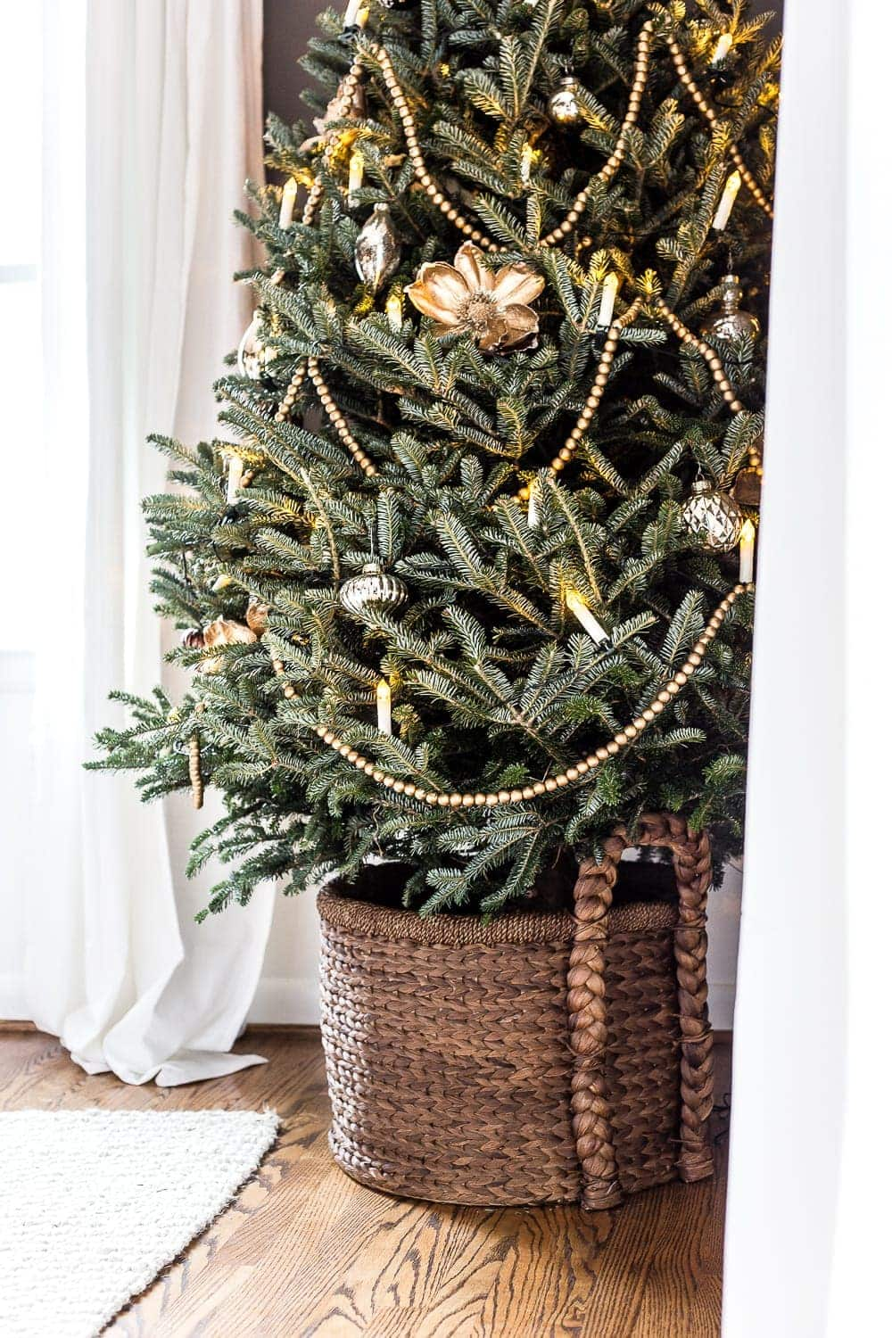 the ultimate guide to decorating and caring for a real christmas tree blesserhousecom - Christmas Tree Branch Decorations