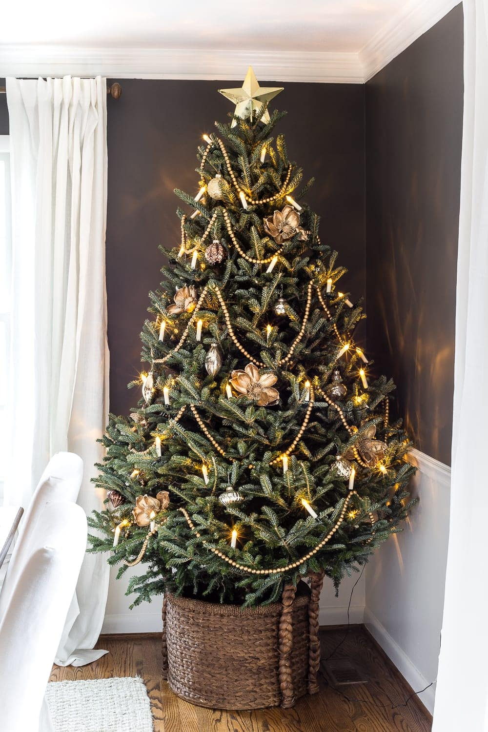 the ultimate guide to decorating and caring for a real christmas tree blesserhousecom - Real Christmas Tree Decorated