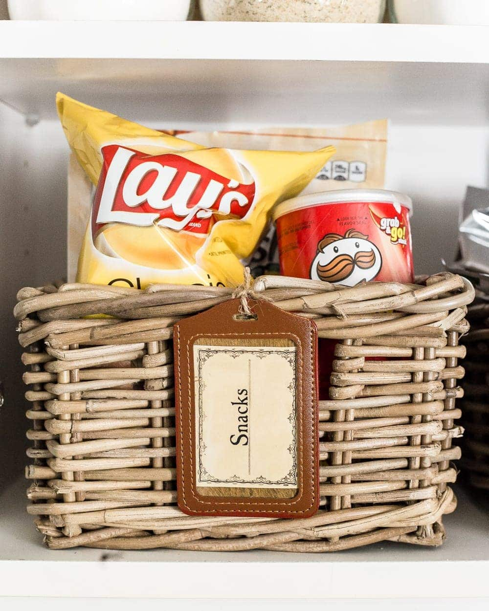 Kitchen Shelf Labels: Pantry Cabinet Organization And Printable Labels
